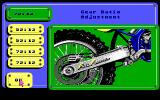 Motocross DOS Config: Gear ratio