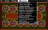 Mancala Apple IIgs Options menu