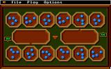 Mancala Apple IIgs Start of game