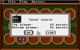 Mancala Apple IIgs End game results