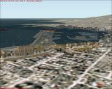 Scenery Spain: Balearic Islands Windows Mallorca scenery - Palma city center and harbour. (FS2000)