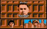 Grimblood Amiga A person's portrait is shown in the left window when mentioned in dialogue