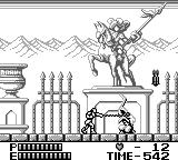 Castlevania II: Belmont's Revenge Game Boy Entering Dracula's castle