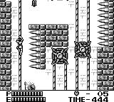 Castlevania II: Belmont's Revenge Game Boy These ropes go up and down, so don't rush it