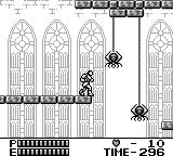 Castlevania II: Belmont's Revenge Game Boy You can climb on spider's rope