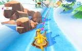 Ice Age: Adventures Android A racing mini-game with Sid