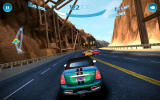 Asphalt: Nitro Android In pursuit on a track with mountains