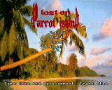 Lost on Parrot Island Amiga Title / main menu