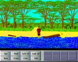 Lost on Parrot Island Amiga On the beach