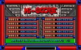 Roll-out Amiga Hi scores