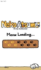Neko Atsume: Kitty Collector Android Title screen.