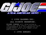 G.I. Joe: A Real American Hero Arcade Title screen
