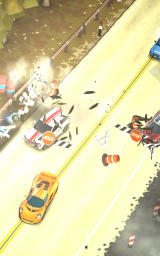 Smash Bandits Android A sports car in an opening scene