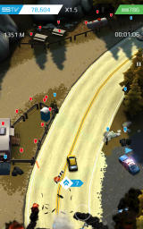 Smash Bandits Android You can also smash objects with red arrows, but these will damage the car.