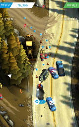 Smash Bandits Android I stole a cop car and am now wreaking havoc.