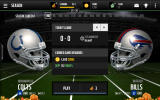 Madden NFL Mobile Android Starting a first season game.