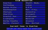 The Official Everton F.C. Intelligensia Amiga Club selection