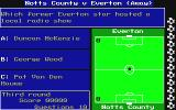 The Official Everton F.C. Intelligensia Amiga Start of match