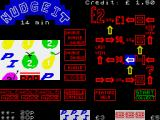 Nudgeit ZX Spectrum In-game screen.