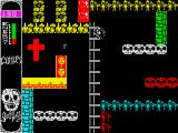 Go to Hell ZX Spectrum Red cross.