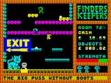 Finders Keepers ZX Spectrum Defender of gates.