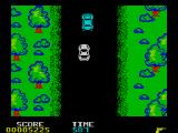 Spy Hunter ZX Spectrum Blue cars are very durable.