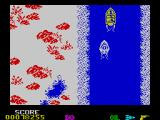 Spy Hunter ZX Spectrum Winter river.