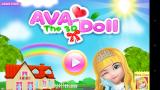 Ava the 3D Doll Android Title screen.