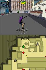 Tony Hawk's American Sk8land Nintendo DS Making a trick.