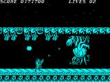 Contra ZX Spectrum The heart of the swarm of aliens is about to get destroyed. It launches crawlers which are very much alike the <i>facehuggers</i>.