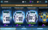 Star Wars: Galaxy of Heroes Android Data cards are the quickest way to get new characters.