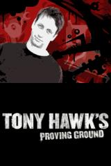 Tony Hawk's Proving Ground Nintendo DS Title screen.