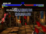 Mortal Kombat 4 PlayStation Maximum damage mode, this mode repels both players to avoid make infinite combos.