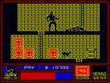 Saboteur ZX Spectrum Opponents-people are killed easily. You can not say this about dogs.