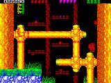 Rick Dangerous 2 ZX Spectrum Level 3 - Forests of Vegetablia: I wonder if there any <i>Ewoks</i> around here.