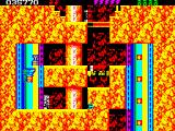 Rick Dangerous 2 ZX Spectrum Level 4 - The Atomic Mud Mines: elevators... <i>guards, knights, Squires... Prepare For Battle</i>!!! (this is a famous quote from John Boorman's <i>Excalibur</i> by the way)