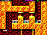 Rick Dangerous 2 ZX Spectrum Level 4 - The Atomic Mud Mines: ultra difficult scenario filled with traps.