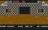 Commando Commodore 64 Explosion enemy base in area 3.