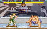 Street Fighter II DOS Guile vs E. Honda