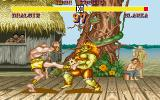 Street Fighter II DOS Dhalsim vs Blanka