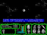 Cosmic Relief: Prof. Renegade to the Rescue ZX Spectrum ...not good news.
