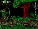 Robin of the Wood ZX Spectrum Title screen.