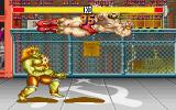 Street Fighter II DOS Blanka vs Zangief