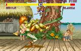 Street Fighter II DOS Guile vs Blanka