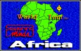 World Tour: Africa Amiga Title screen