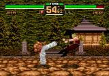 Virtua Fighter 2 Genesis Jeffry vs. Jacky