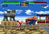 Virtua Fighter 2 Genesis Pai takes out Wolf...