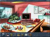 Ocean Trader DOS Your office (and game options)