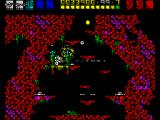 Rex ZX Spectrum Teleporting points are essential for the gameplay. Rex has to walk through them so that they can be activated the next time Rex is shot.