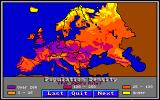 World Tour: Europe Amiga Population map